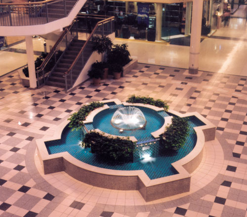 Lighthouse Electric   South Hills Village   West Court Fountain