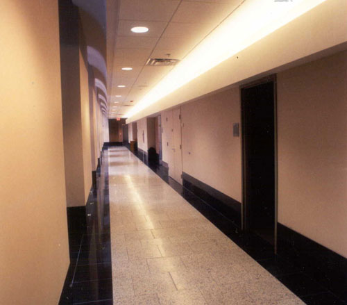 Lighthouse Electric | Corridors Adjoining Atrium
