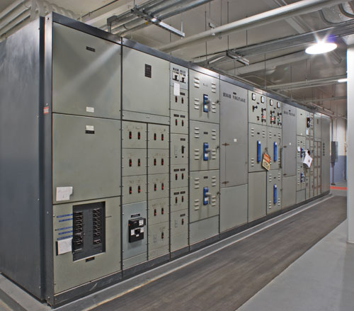 Lighthouse Electric | Allegheny Tunnel | Switchgear Room One