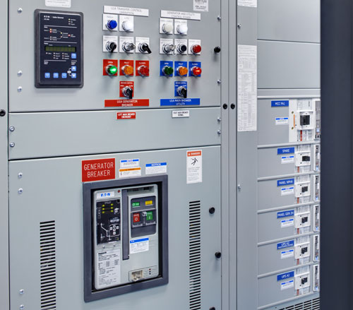 Lighthouse Electric | Undisclosed Data Center 2 | Main Generator (Eaton Switchgear Lineup)