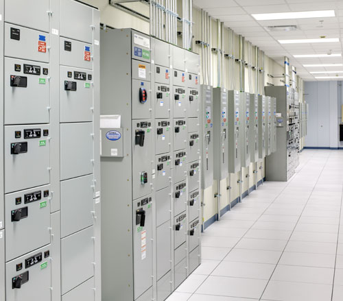 Lighthouse Electric | Undisclosed Data Center 2 | Motor Control Center & ATS Lineup for N/E Power Serving Main Data Room