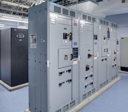 Lighthouse Electric | Undisclosed Data Center 2 | Siemens Paralleling Equipment for Liebert UPS Backup
