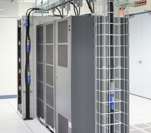 Lighthouse Electric | Undisclosed Data Center 2 | Custom Cable Tray for Owner Supplied Equipment