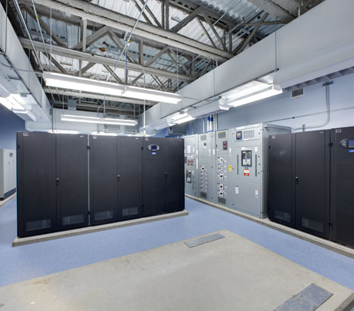 Lighthouse Electric | Undisclosed Data Center 2 | Main Electrical Room (Liebert UPS Battery System)