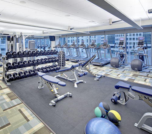 Lighthouse Electric | Fairmont Pittsburgh | Fitness Center