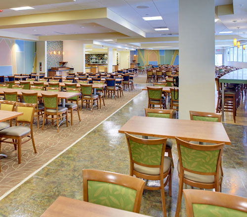Lighthouse Electric | United Hospital | Cafeteria Seating