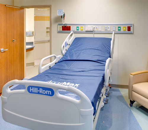 Lighthouse Electric   United Hospital   Patient Room